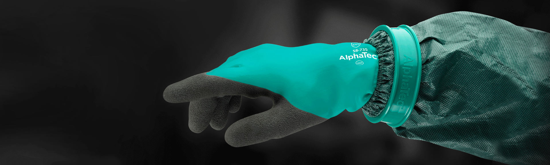 AlphaTec Glove Connector-Ansell