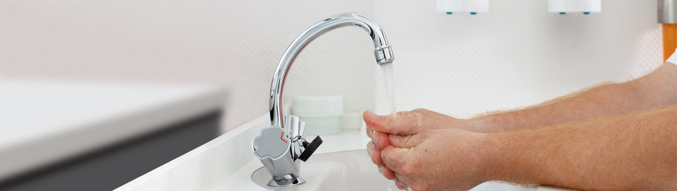 Hydrasoft - Washing Hands at Sink - Ansell