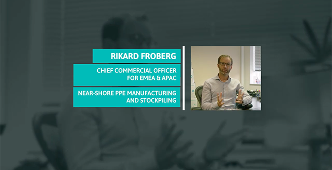 Near-Shore PPE Manufacturing and Stockpiling: Rikard Froberg