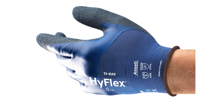 HyFlex 11-925 Bleu Product NA - U-Card