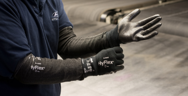 HyFlex 11-542 Black Product - Automotive Industry