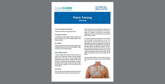 MEAPAC1004_Clinical Bulletin_Allergy Testing_Patch Testing