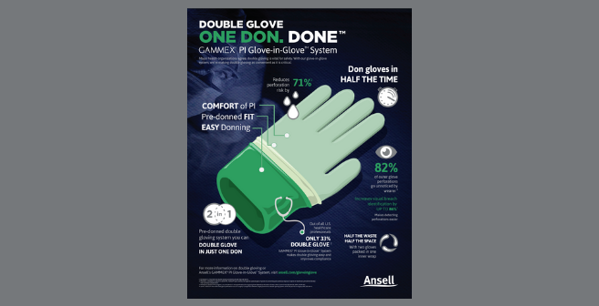 Glove in Glove Infograhic