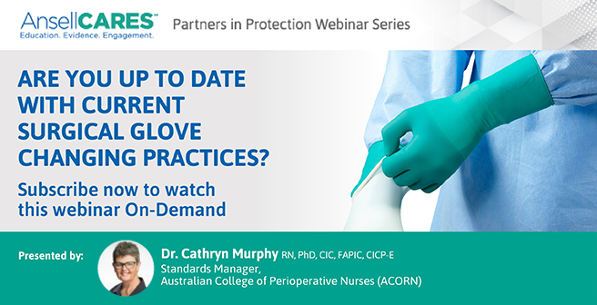 Are you up to date with current surgical glove Webinar