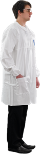 AlphaTec® 1500 PLUS Lab Coat - Model 208