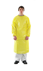 AlphaTec® 3000 Apron with Sleeves - Model 214