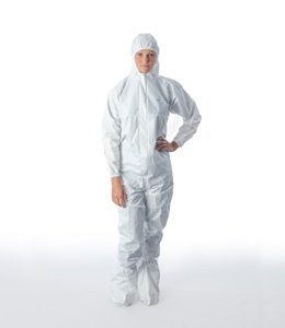 BioClean-D Coverall with Hood & Integrated Boots BDFC