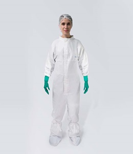 BioClean-D Coverall with Collar BDCCT