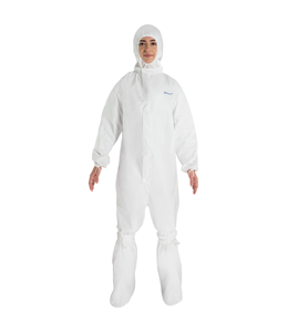 BioClean-D Sterile Kit Coverall w/Collar, Overboots & Hood S-BDKO