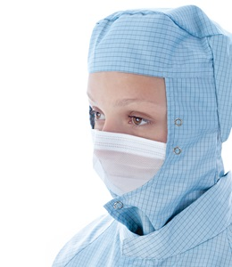 BioClean™ Microflow Face Veil with Studs BFV06