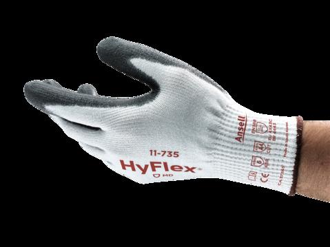 Palm Dipped Medium Duty, 10G INTERCEPT™ Cut Resistant Gloves - Medium Duty