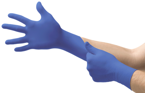 MICRO-TOUCH® Blue Nitrile