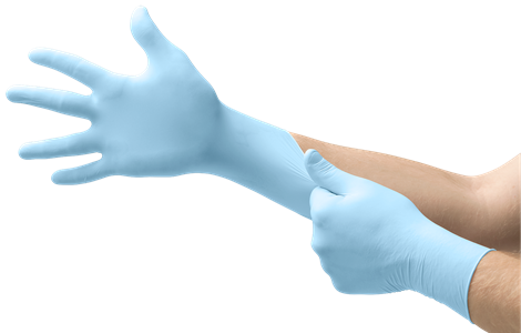 MICRO-TOUCH® DENTA-GLOVE® Blue Nitrile