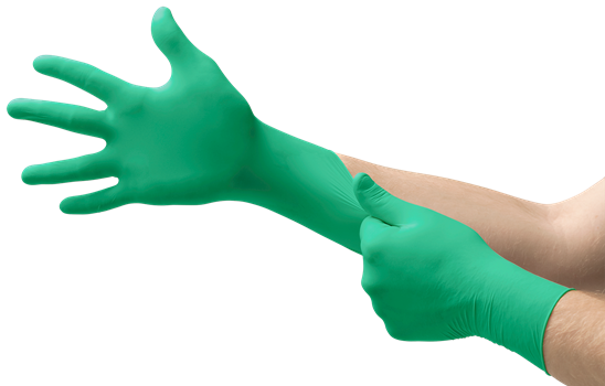 MICRO-TOUCH DENTA-GLOVE Green Neoprene Gloves