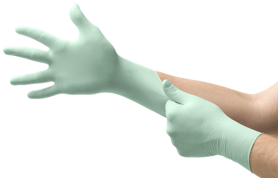 MICRO-TOUCH DENTA-GLOV Latex HYDRACARE Gloves