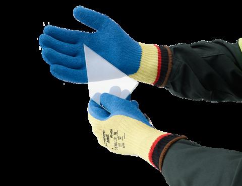 Ansell Powerflex 80-602 Glass Handling 80-600 Cut 5 Resistant Kevlar Gloves